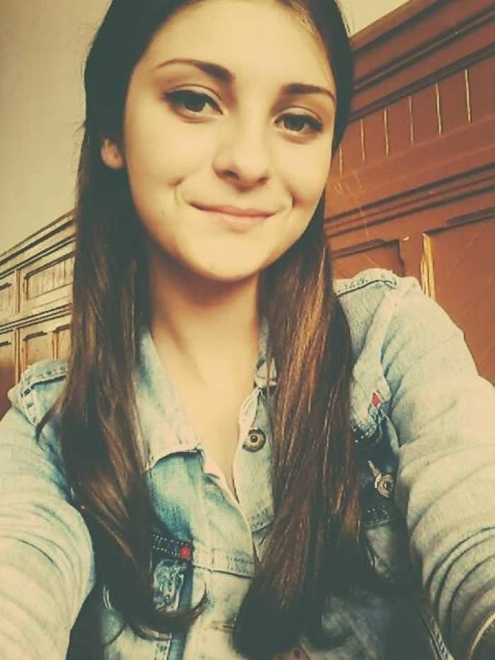 Elena Matei în adolescență.