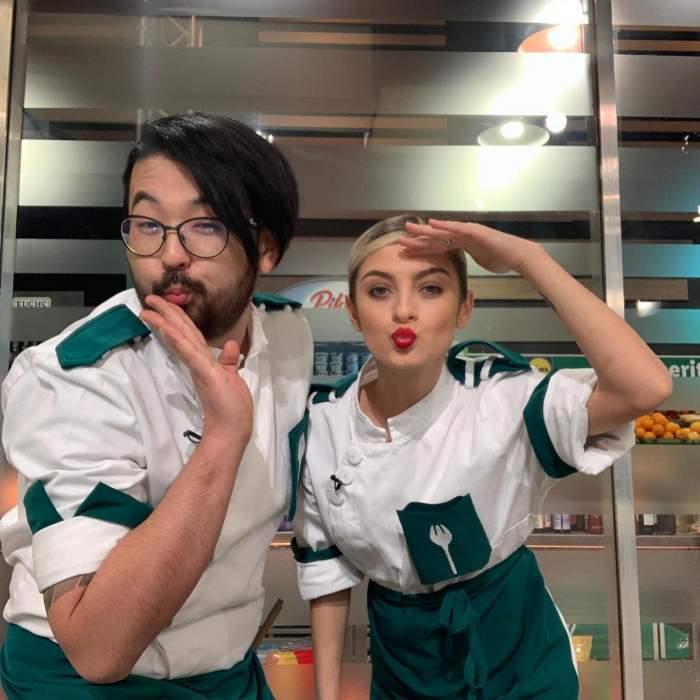 """Ce i-a transmis Rikito Watanabe concurentei Elenei Matei după ce a fost desemnată finalistă Chefi la cuțite: """"Ești un bucătar mai bun decât mine"""""""