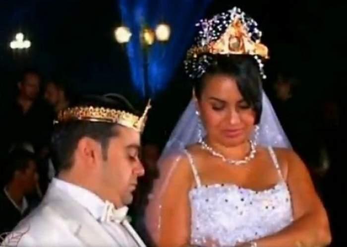 Adrian Minune când s-a căsătorit cu Cati.