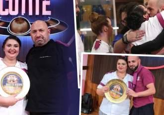 """Reacția lui Alex Turcitu, soțul Narcisei Birjaru, după ce concurenta a câștigat Chefi la cuțite: """"Te iubesc, mândria mea"""""""