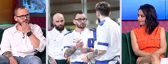 Cătălin Amarandei în platou la Antena Stars.