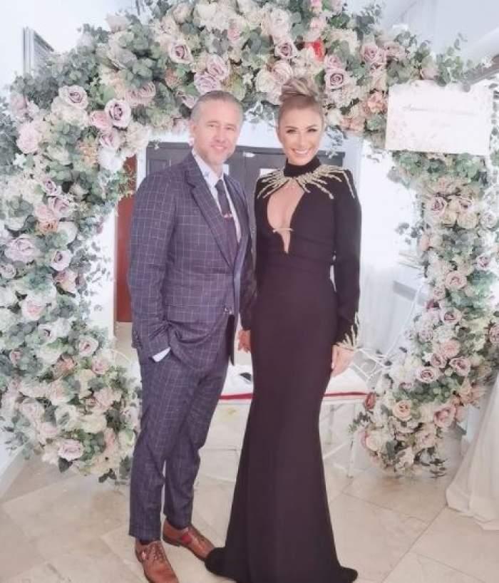 Anamaria Prodan și Laurențiu Reghecampf la nunta lor, când erau împreună.