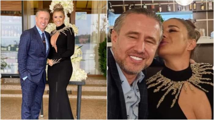 Colaj cu Anamaria Prodan și Laurențiu Reghecampf din ziua nunții.