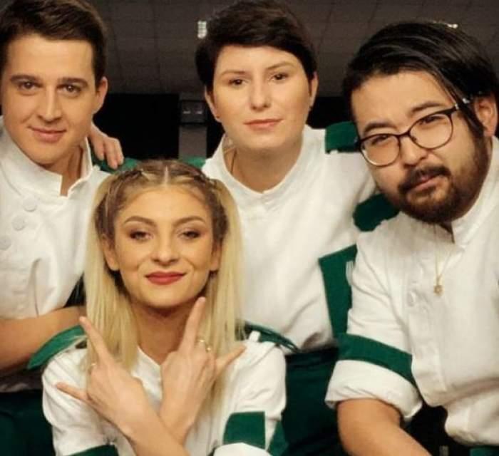 Elena Matei alături de Paul, Mălai și Riki