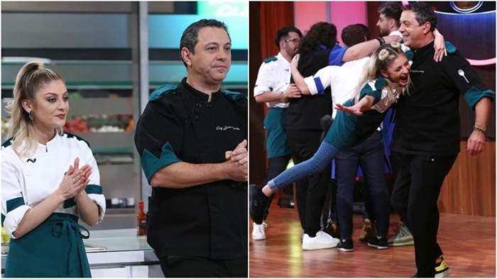 Colaj cu Elena Matei și Sorin Bontea, la Chefi la cuțite.