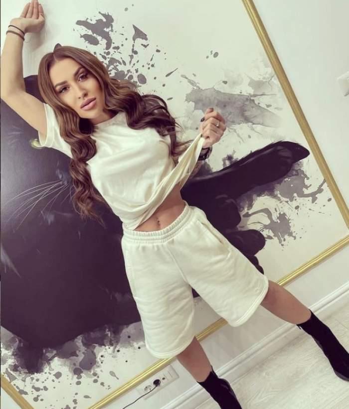 """Denisa Despa, logodită în mare secret? Ce a dat de înțeles dansatoarea maneliștilor: """"Sunt o femeie fericită"""""""