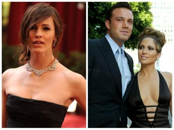 colaj Jennifer Lopez cu Ben Affleck și Jennifer Garner
