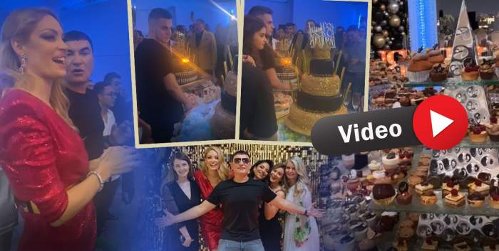 Imagini exclusive de la majoratul gemenilor lui Cristi Borcea și ai Mihaelei! Nume mari din showbiz au fost prezente / VIDEO