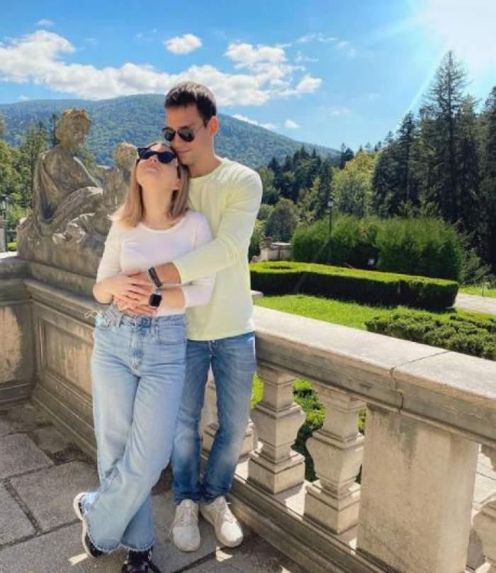 Vlad Gherman și Cristina Ciobănașu, în perioada în care formau un cuplu, în vacanță.