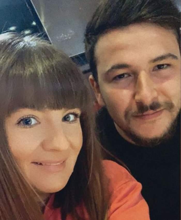 Edith Telian și Ali Firescu, selfie.