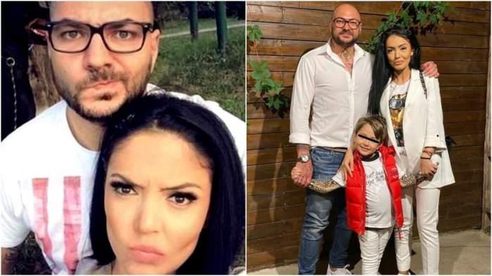 Colaj cu Andreea Mantea și Cristi Mitrea când erau împreună/  Andreea Mantea și Cristi Mitrea când formau un cuplu, alături de copil.
