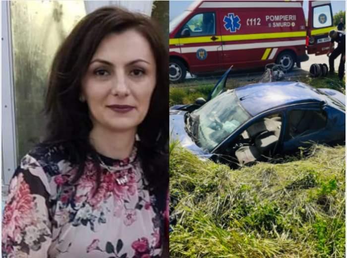 Grav accident în Gorj. O avocată de 42 de ani a murit, iar două fetițe gemene au rămas orfane