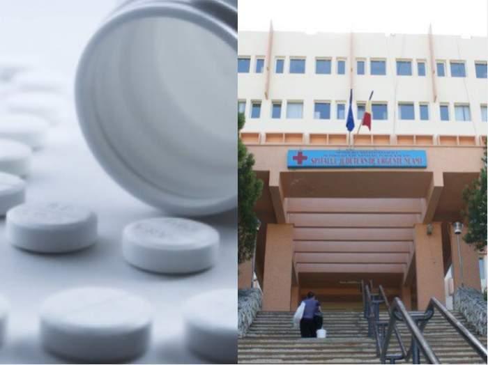 Un bărbat a ajuns în stare gravă la spital, în Neamț. A luat zilnic paracetamol şi algocalmin timp de un an pentru a se proteja de COVID-19