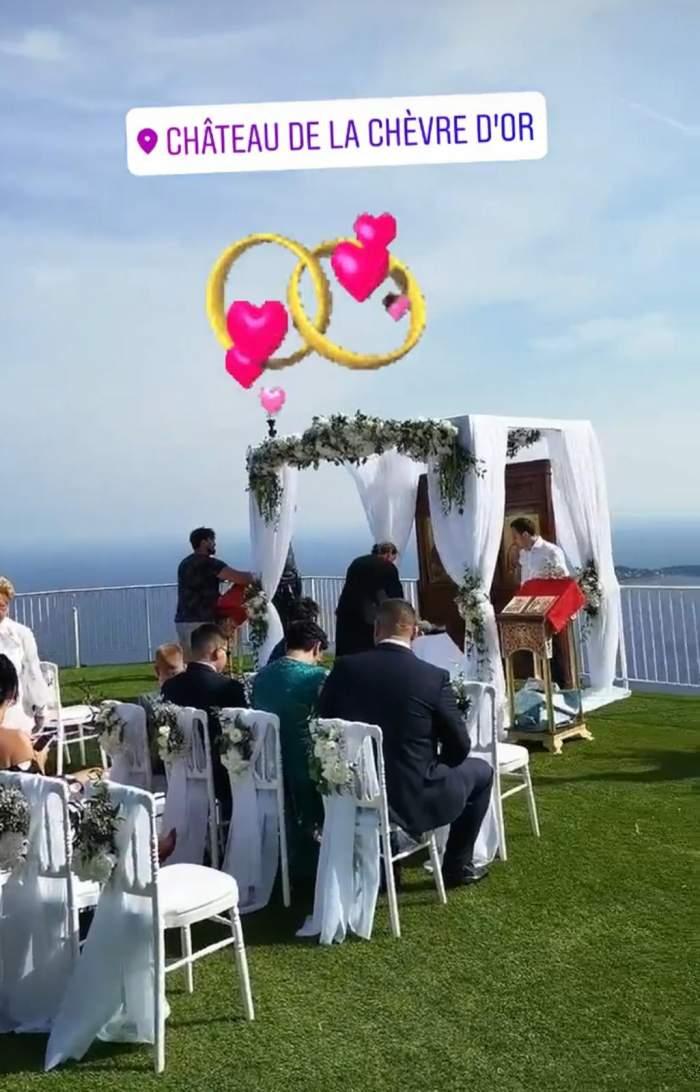 denisa tanase la nunta