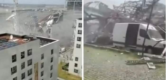 Tragedie în Belgia după ce o clădire aflată în construcție s-a prăbușit peste muncitori. O persoană a murit, iar alte opt sunt în stare gravă