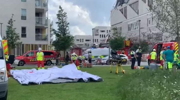 Muncitorul mort în Belgia, după ce o clădire s-a prăbușit, era român. Cinci persoane sunt încă dispărute / VIDEO