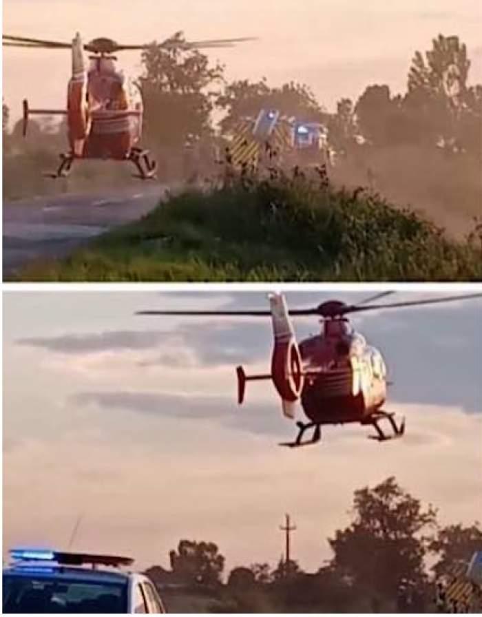 Tragedie în Bihor. Cinci tineri s-au răsturnat cu maşina pe un câmp, iar unul dintre ei a murit pe loc / FOTO