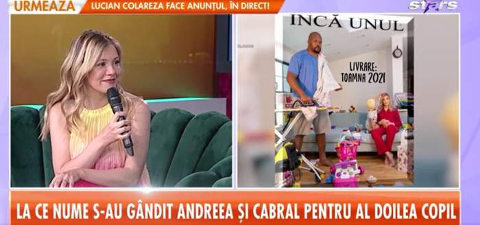 Andreea Ibacka la Antena Stars.