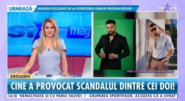 Captură cu Bogdan Mocanu la Antena Stars.