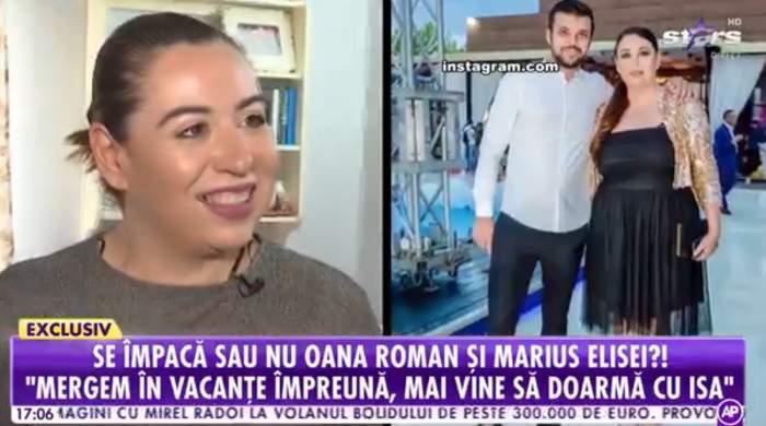 """Oana Roman, pregătită de împăcarea cu Marius Elisei? Cum se înțelege în prezent cu tatăl fetiței sale: """"Nu știu ce să zic"""" / VIDEO"""