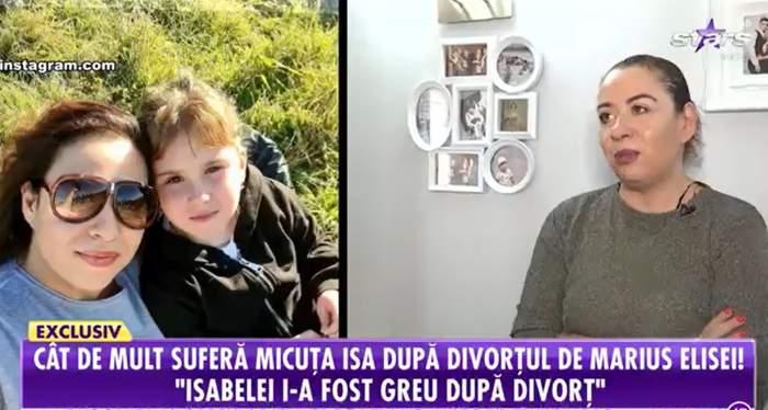 """Cât de mult a suferit Isabela, fiica Oanei Roman și a lui Marius Elisei, după divorțul părinților: """"Îi este greu"""" / VIDEO"""