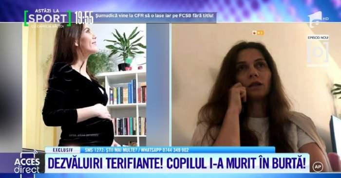 """Acces Direct. Aida Parascan, acuzații grele pentru medicul care i-a monitorizat sarcina: """"Mi-a spus că nu e necesară o ecografie, a scris-o de mână"""" / VIDEO"""