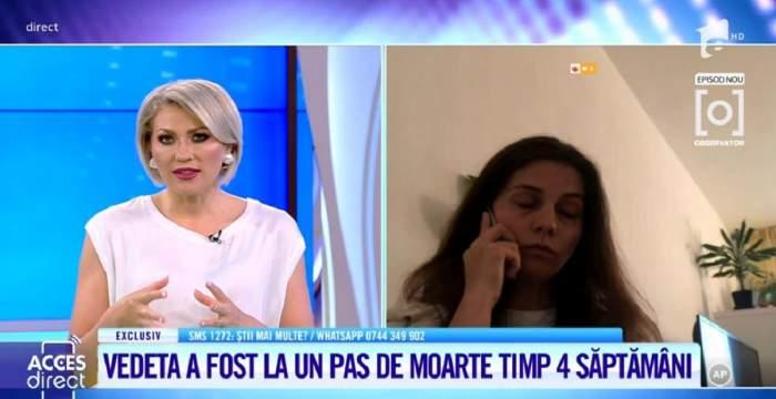"""Acces Direct. Aida Parascan, mărturii șocante despre bebelușul care i-a murit în pântece: """"Am născut natural, a durat vreo 6 ore și jumătate"""" / VIDEO"""