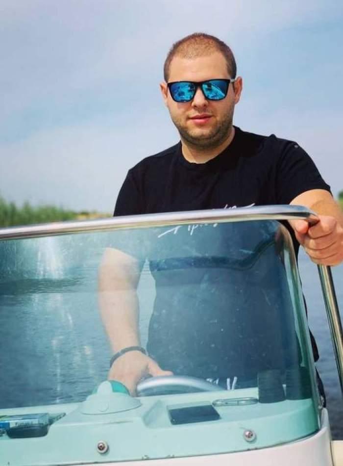 """Alexandru Bădițoaia, ipostază romantică alături de viitoarea lui soție. Cum au reacționat foștii colegi de la Chefi la cuțite: """"Casă de piatră"""" / FOTO"""