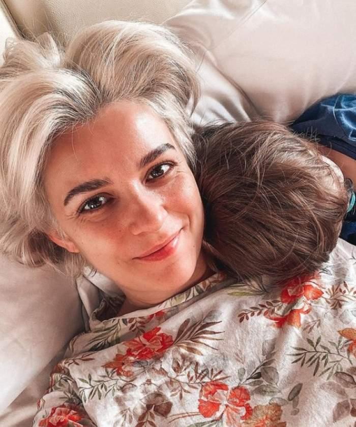 diana dumitrescu si fiul ei