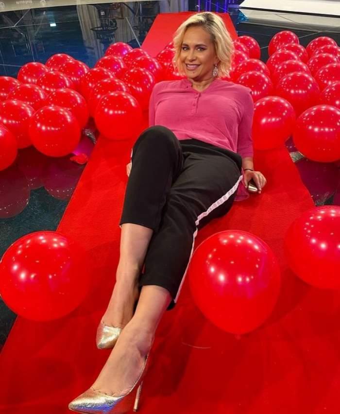 paula chirila in baloane