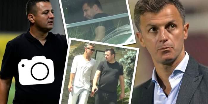 Ianis Zicu și Ovidiu Burcă pun țara la cale prin restaurantele de fițe. Cum au fost surprinși fotbaliștii / PAPARAZZI