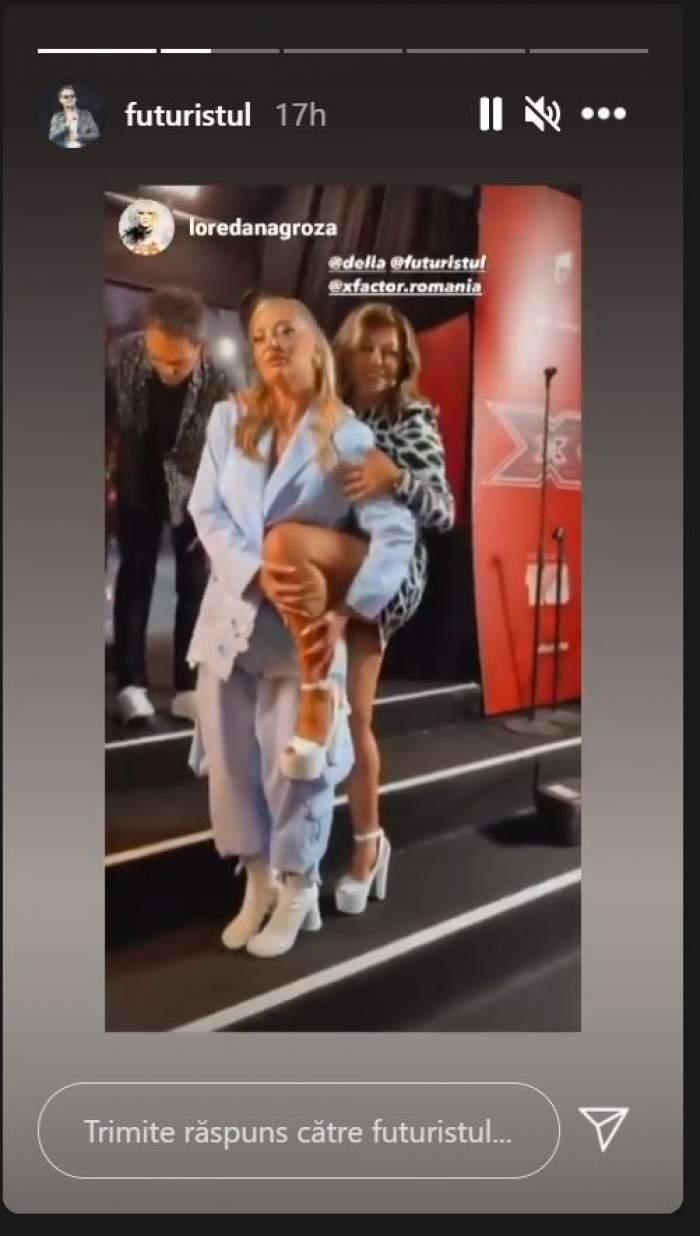 Loredana Groza și Delia, scene hot în văzul colegilor. Juratele X Factor și-au scos la înaintare toate atuurile / FOTO