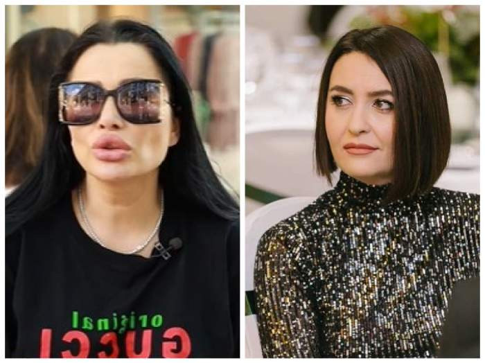 Colaj Brigitte Pastramă și  Amalia Năstase