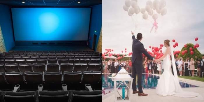 cinematograf colaj cu nunta