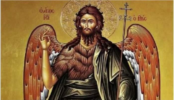 Rugăciunea care se rostește la Nașterea Sfântului Ioan Botezătorul