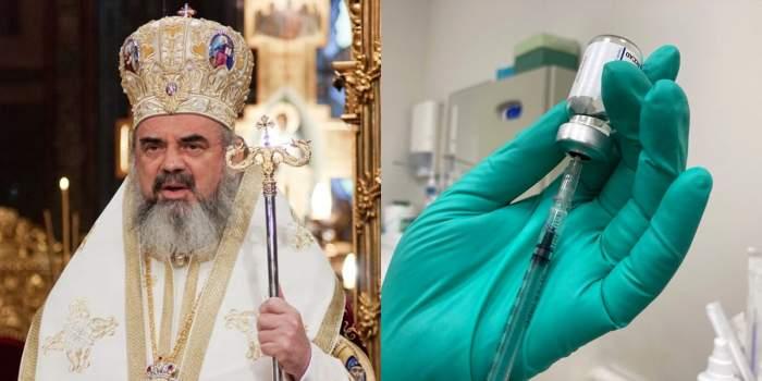 patriarhul daniel colaj vaccin covid 19