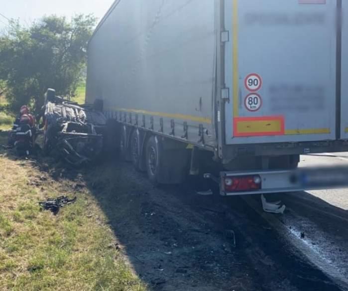 Doi adulți și un copil au murit în urma unui accident grav pe DN1 E60. Cum s-a produs teribila coliziune