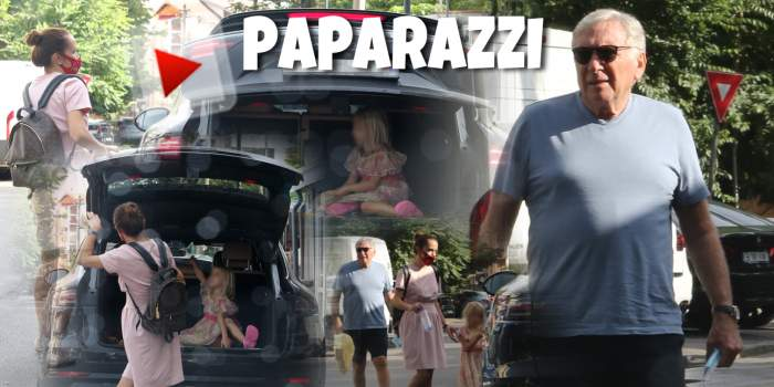 Nu te poți pune cu dorința copilului! Fetița lui Vova Cohn obișnuiește să călătorească în... portbagaj? Cum l-au surprins paparazzi Spynews pe milionar și pe familia lui / PAPARAZZI