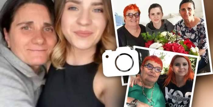 """Cum se înțelege, de fapt, Cristina Ciobănașu cu cele două mame ale ei: """"Mai dificil e atunci când se întâlnesc"""""""