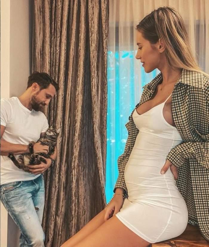 Ce pofte culinare are Gabriela Prisăcariu în a șaptea lună de sarcină. Mâncarea comandată de soția lui Dani Oțil într-un restaurant