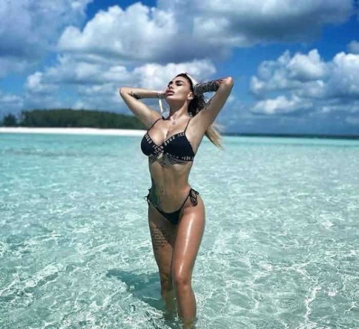 """Cum se simte Bianca Iordachedupă operația la sâni! A spus la Antena Stars totul despre starea de sănătate: """"Nu aș mai fi putut să stau așa"""""""