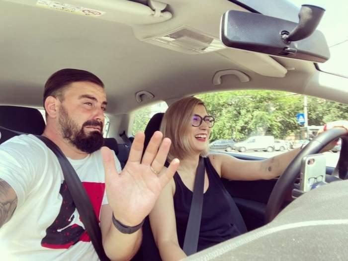 """Cătălin Rizea și Adda s-au accidentat unul pe altul în trafic. Cum se simt acum cei doi: """"Am făcut amiabilă"""""""