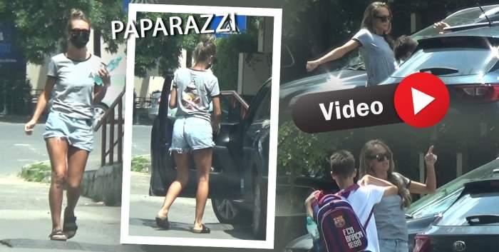 Cum arată Diana Munteanu nemachiată și fără rochii spectaculoase! Imagini de senzație cu prezentatoarea TV / PAPARAZZI