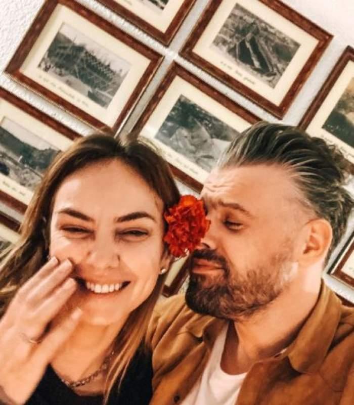 """Roxana Ionescu, declarații despre copil, după ce a făcut nunta cu Tinu Vidaicu: """"Așteptăm foarte tare momentul"""""""