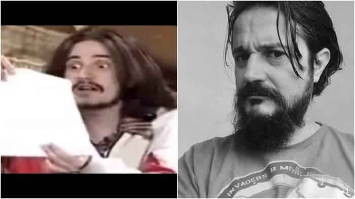 Colaj cu Iulian Ilinca în rolul lui Frankfurt/ Iulian Ilinca, selfie.