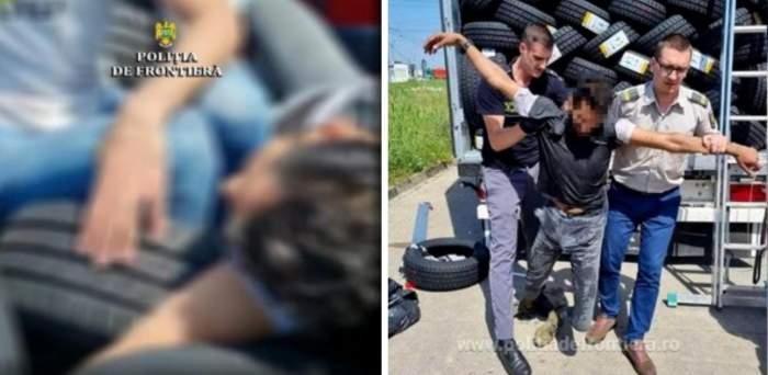 Un tânăr migrant, aproape mort între cauciucurile dintr-un TIR care venea din Turcia în România