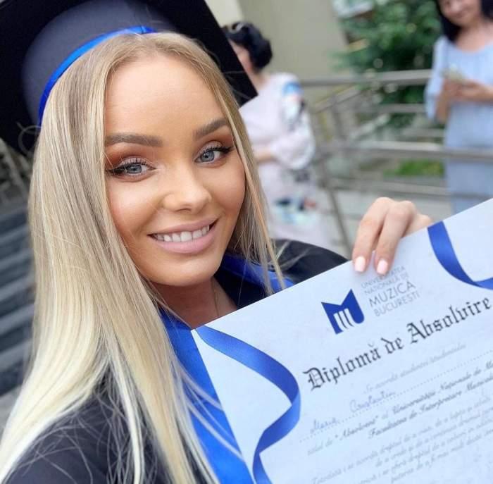 """Ce facultate a absolvit Maria Constantin. Cântăreața de muzică populară a postat imaginile. """"Sunt mândră"""""""