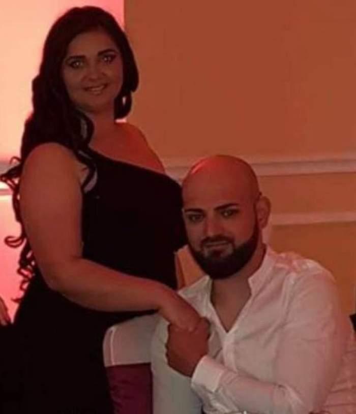 Narcisa Birjaru alături de soțul său.