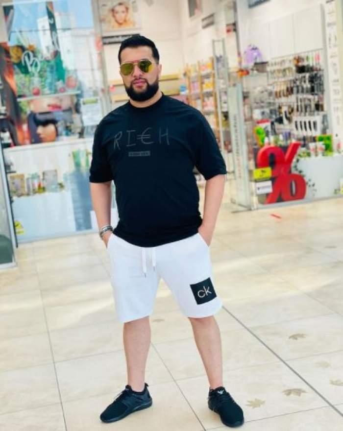 Tzancă Uraganu în mall.