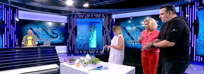 Andra Mihail de la Chefi la cuțite a gătit biban peruan, în direct, la Xtra Night Show. Unde lucrează acum frumușica lui Cătălin Scărlătescu / VIDEO